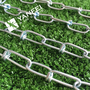 DIN5686 Zinc Plated Knotted Link Chain for Dog pictures & photos