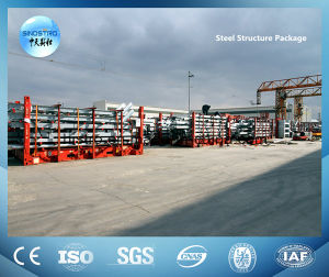 Building Steel Structure with Hot-DIP Galvanized Treatment pictures & photos