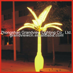 Yellow Colour for LED Palm Tree Light pictures & photos