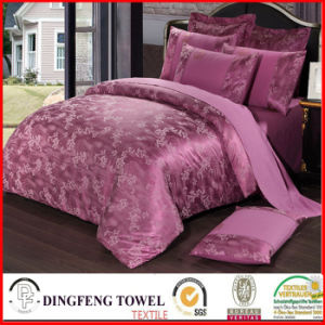 Fashion Poly-Cotton Jacquard Bedding Set Df-C162 pictures & photos