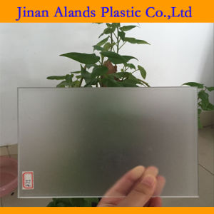 Transparent Frosted Cast Acrylic Sheet for Fabrication pictures & photos