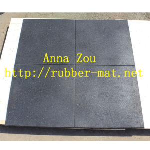 Shock Resistant Rubber Flooring/Use for Gym Rubber Flooring pictures & photos