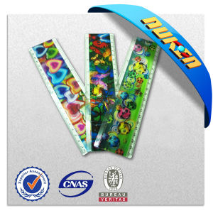 Plastic 3D Lenticular Ruler for Promotion pictures & photos