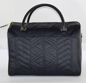 2017 Fashion Black PVC Handbag pictures & photos
