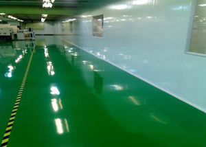 Anti-Static Epoxy Floor with High Mechanical Strength pictures & photos