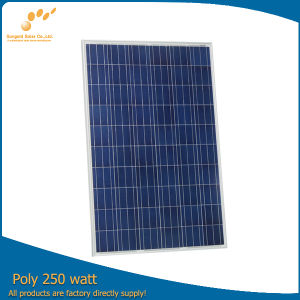 250 Watt 30 Volt Solar Panel Spain + Waterproof Junction Box RV Versatile Boat
