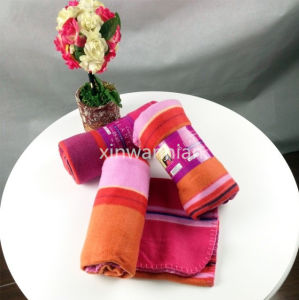 High Quality 100% Polyester Polar Fleece Blanket (XSM-SM011)