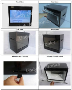 22inch Transparent LCD Ad Player Transparent LCD Showcase-Ad Player