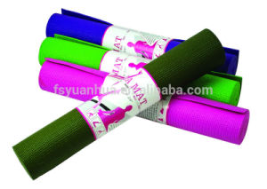 Comfortable Eco-Friendly Anti Slip Dual Colour PVC Foam Yoga Mat pictures & photos