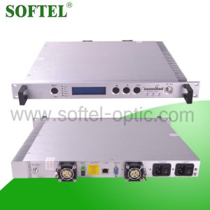 Agc Top Design (2 fan 2 power supply) Fiber Optical 1310nm Transmitter pictures & photos