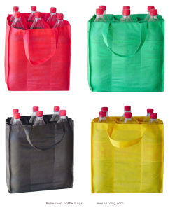 Eco-Friendly Tote Bottle Non Woven Bag pictures & photos