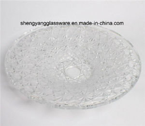 Coining Snowflake Glass Plate / Clean Plate pictures & photos