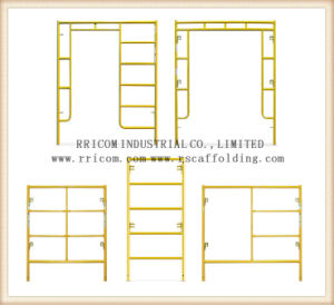 Scaffold Walk Through Frames for Scaffolding/ Lock Frame / Arch Frame. pictures & photos