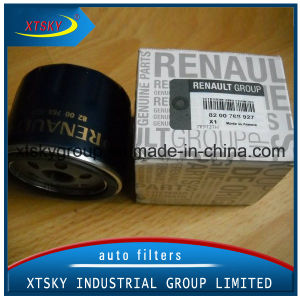 Auto Oil Filter 8200768927 for Nissan pictures & photos