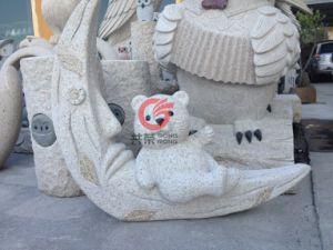 Stone Bear Sculpture