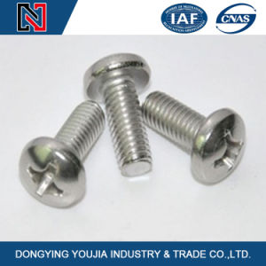 GB823 Stainless Steel Cross Recessed Small Pan Head Screw Manufactured in China pictures & photos