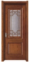 Top Brand Entrance Glass Wooden Door for Villa