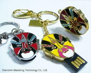 Hot! Fashion Facial Makeup USB Flash Drives Pen Drive pictures & photos