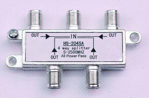 4way 5-2500MHz Smatv Splitter (SHJ-HS204SA) pictures & photos