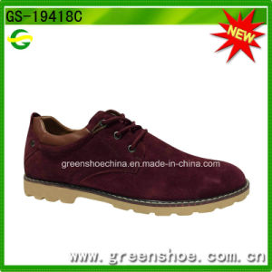 Men Suede Upper Oxford British Style Shoes pictures & photos