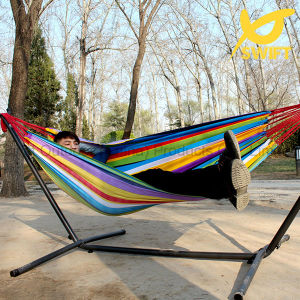 2 Person Rainbow Pinstripe Outdoor Hammock pictures & photos