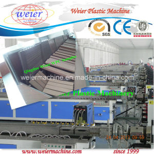 Co-Extrusion Line for Wood Plastic WPC Deck Boards pictures & photos