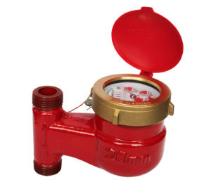 Vertical Type Hot Water Meter