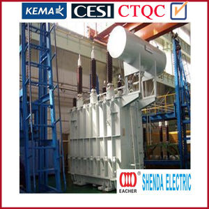 Traction Transformer for Oil-Immersed Three-Phase Two-Winding Transformer
