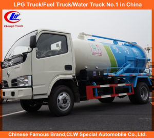 Dongfeng Mini Vacuum Sewage Suction Truck pictures & photos