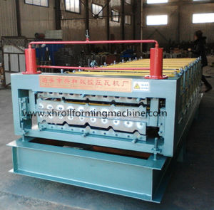 Double Layer Roof Panel Roll Forming Machine pictures & photos