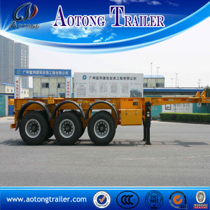 40ft Skeletal Truck Trailer / Container Semi Trailer for Sale pictures & photos