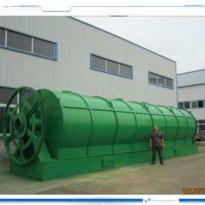 Rubber to Oil Recycling Pyrolysis Plant 10ton Capacity Pollution Free pictures & photos