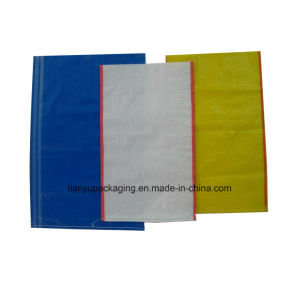 Yellow PP Woven Bag for Packaging Grain pictures & photos
