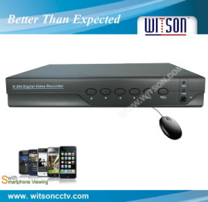 Witson 4CH H. 264 Full D1 Standalone Security CCTV Video DVR Recorder (W3-D3004HT) pictures & photos