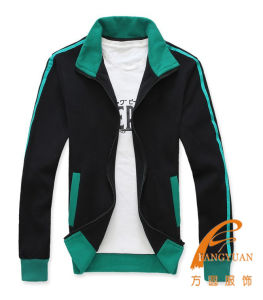 Custom Made Colour Matching Men′s Sport Polo Neck Jacket