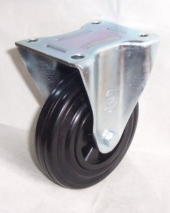 "4"" European Type Wheel Rubber Caster pictures & photos"