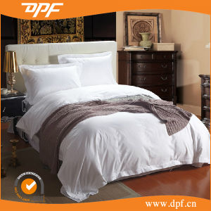High Quality Plain White 180tc Hotel Cotton White Bedding Set pictures & photos