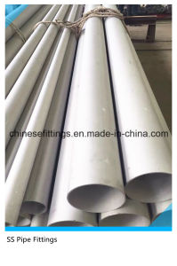 ASME TP304 Tp316L Tp321 Seamless Stainless Steel Pipes pictures & photos