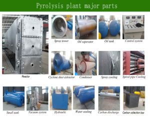 Large Capacity Crude Oil Refining Pyrolysis Plant 60tpd pictures & photos