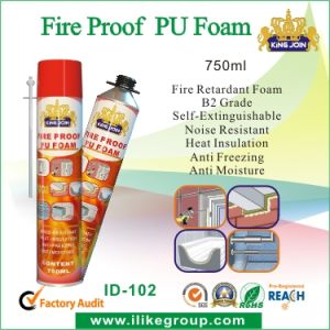 Easy Use Fire Insulation Foam Spray pictures & photos