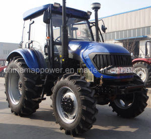 100HP Farming Tractor with Front Loader pictures & photos