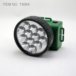12 LED Rechargeable Headlight (T3064) pictures & photos