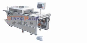Audio-Visual Products Semi-Auto Adjustable Cellophane 3D Overwrapping Machine with Tear Tape pictures & photos