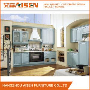 Wooden Kitchen Furniture Soild Wood Kitchen Cabinet pictures & photos