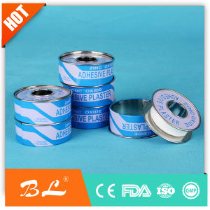 Snow Flake Cotton Tape Zop in Tin Box Medical Tape pictures & photos