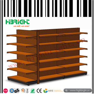 Wall Side Gondola Shelving Units pictures & photos