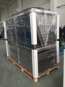 Stainless Steel Air Source Heat Pump Water Heater Made in China pictures & photos