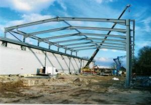 Prefab Large Span Steel Structure Frame Warehouse (DG1-009) pictures & photos
