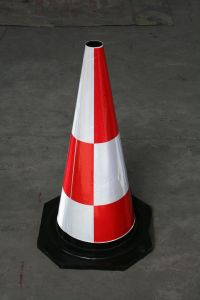 Reflective Rubber Traffic Cone (CC-A14) pictures & photos