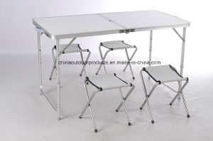 Aluminum Outdoor Folding Camping Table with Chair pictures & photos